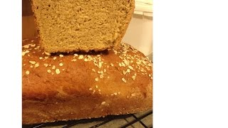Molasses Oat Bread Made With Easy Basic Method