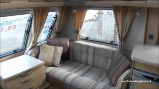 Abbey GTS 418 2008 4 Berth Fixed Bed End Bedroom Touring Caravan High Spec