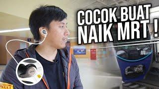 Nyobain MRT Sambil Ngetes Earphone Jabra Elite 65t