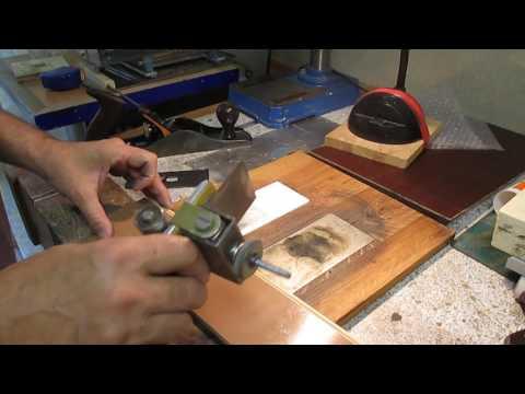 Усовершенствованая тележка для заточки лезвия рубанка (новые возможности )