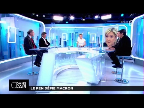 Le Pen défie Macron #cdanslair 26-04-2017