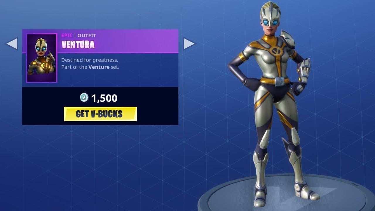 New ventura skin item shop june 8 fortnite battle - Ventura fortnite ...