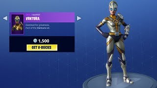 *NUEVO* VENTURA SKIN ITEM SHOP JUNIO 8 DE JUNIO! Fortnite Battle Royale