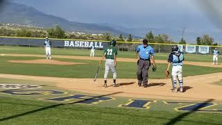 Korey Reed 2021 Los osos baseball