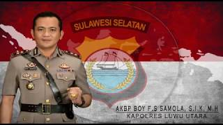 Bedah rumah Kapolres Luwu Utara AKBP BOY F.S. SALMON SAMOLA S.I.K, ...