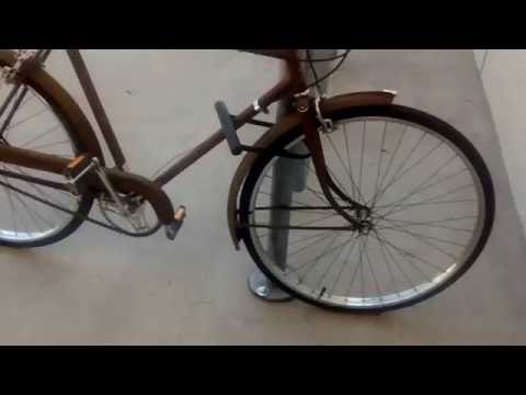 Bike of the day The Raleigh an English Bicycle | Old homeless guy vlog