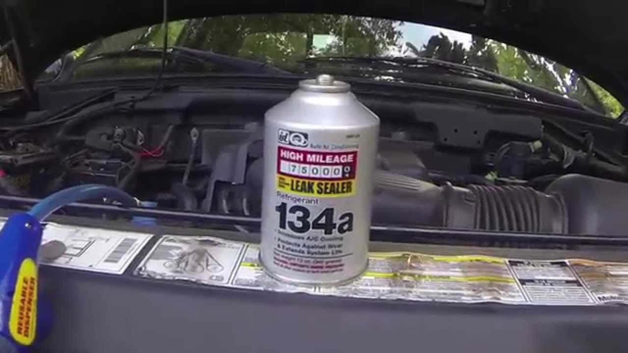 How Much Is Freon >> How to: adding freon/refrigerant/R134a to car/truck/suv ...