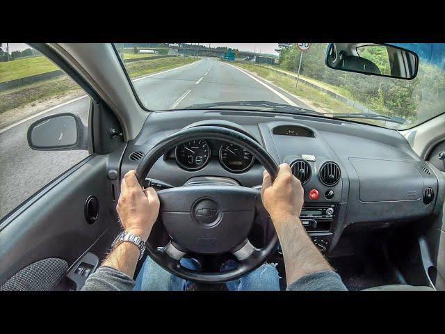 Chevrolet Kalos Aveo 4k Pov Test Drive 258 Joe Black Youtube