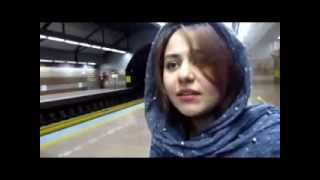 X-PERSIA - SUBWAY MANIA (Tehran Subway Train to Padis Gholhak Theater)
