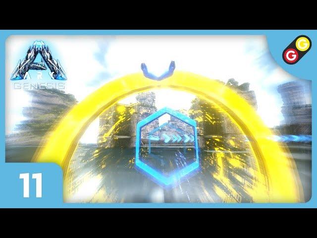 ARK : Survival Evolved - Genesis #11 On fait une course de raies ! [FR]