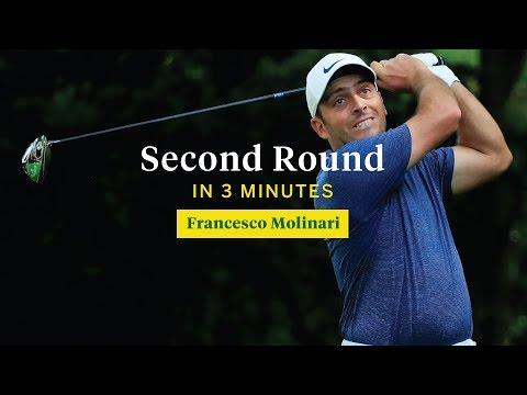 Francesco Molinari's Second Round in Three Minutes