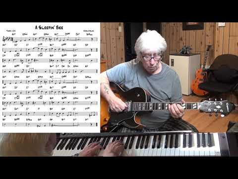 A Sleepin' Bee - Jazz guitar & piano cover ( Harold Arlen ) mp3