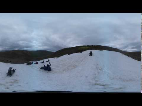 Iceland NY Times Student Journey: Snowpack Sledding in Hornstrandir Nature Reserve