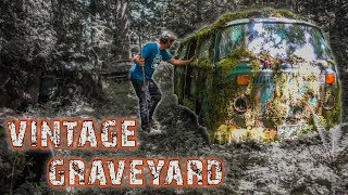 Hundreds of Vintage Vehicles Discovered in The Forest!!