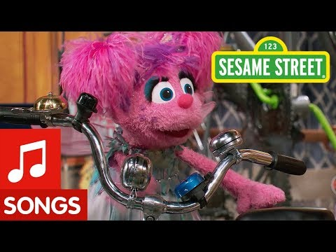 Sesame Street: Making Music with Bike Instruments!