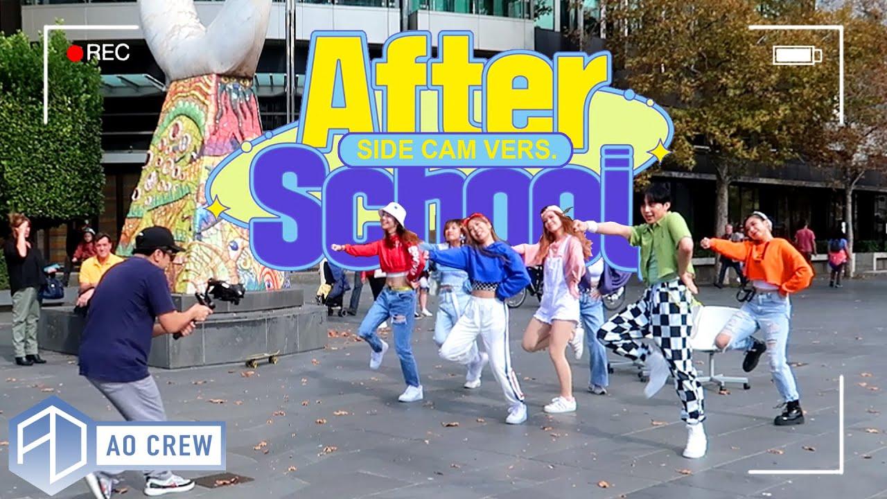 KPOP IN PUBLIC Weeekly 'After School' Dance Cover [AO CREW - AUSTRALIA] SIDE CAM