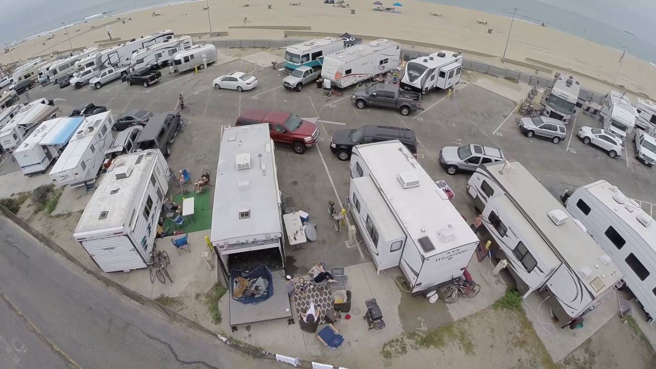 Bolsa Chica Rv Camp Ground Drone