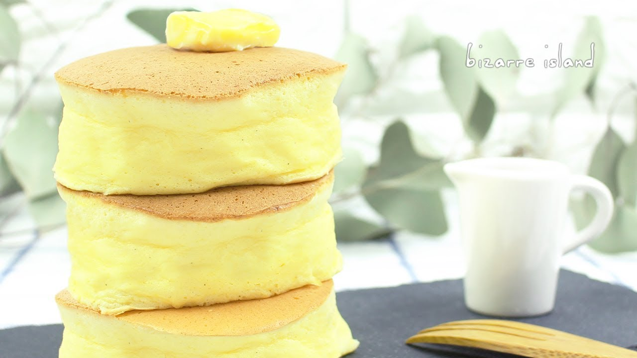 Super Fluffy Japanese Jiggly Pancakes Aka Souffle Pancakes Recipe D For Delicious Youtube