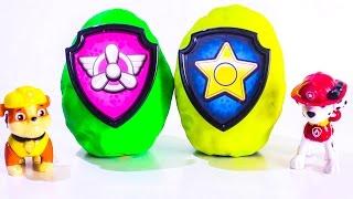 Щенячий патруль все серии подряд Развивающие мультики про игрушки Киндер сюрпризы Щенячий патруль