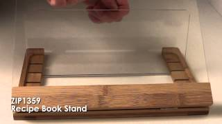 Zip1359 Recipe Book Stand