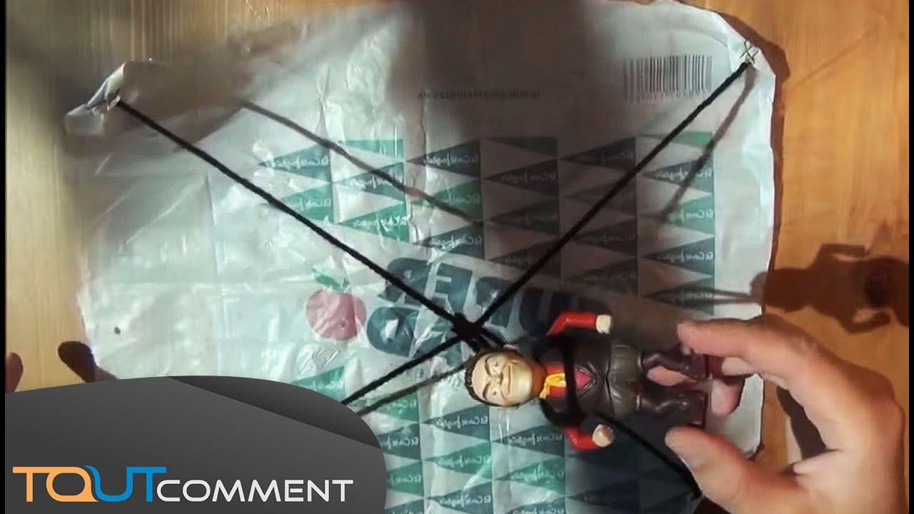 Comment faire un mini parachute  YouTube