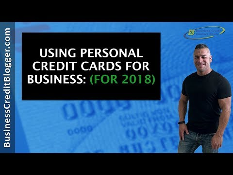 Using Personal Credit Cards for Business