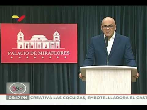 Jorge Rodríguez: Este jueves se reanudan las actividades laborales en Venezuela