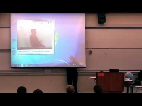 ¡Increíble broma de un profesor en clase de matemáticas!