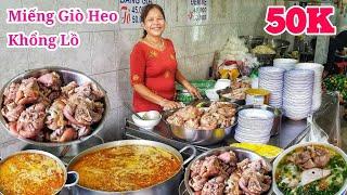 Quán bún giò heo cực hót với Miếng giò khổng lồ hút khách ở Sài Gòn | Saigon Travel