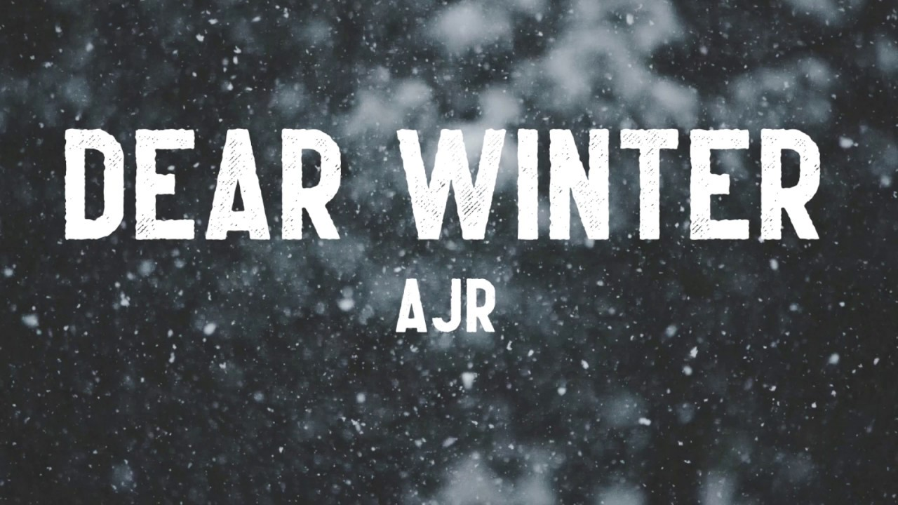 Ajr Dear Winter Lyrics Chords Chordify Ryan plays the g as a bar chord f g c dear winter, i hope you like this song f g and even when you're 13. chordify