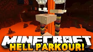 Minecraft - HELL PARKOUR! (Funny Map!) - w/ Preston, Vikkstar123, & Choco