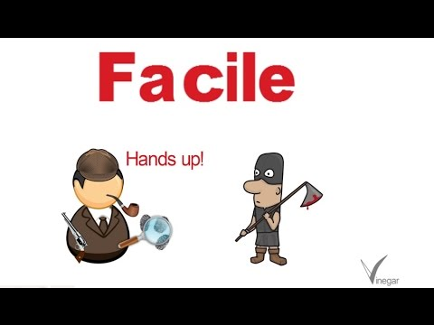 Facile Meaning In English And Hindi With Usage   YouTube