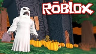 Roblox - Escape a Horror House - SPOOKS AND SCARES!!