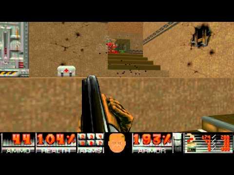 Doom WAD - Alien vendetta - Map 3