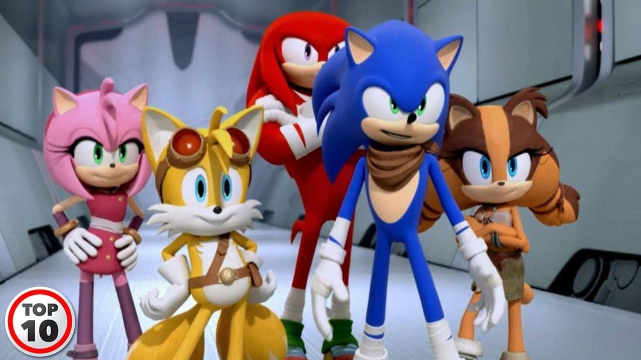 Top 10 Best Sonic Boom Episodes - Part 2 - YouTube
