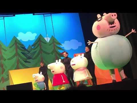Peppa pig LIVE - bing bong song!