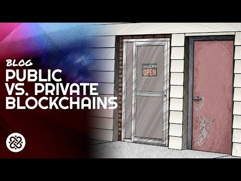 The Enterprise Blockchain Revolution - Public vs. Private Blockchains