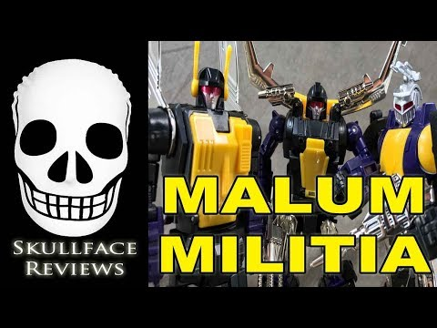 Transformers 3rd Party Mastermind Creations Reformatted Malum Militia (Insecticons)