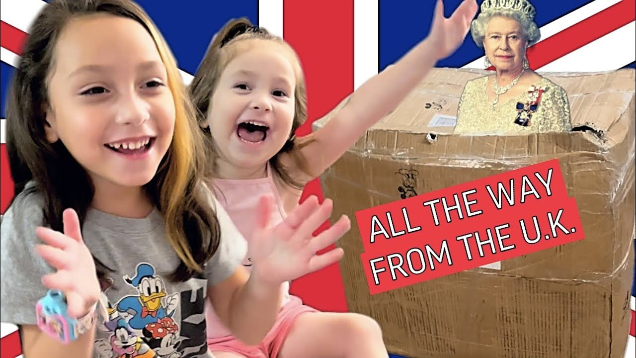 Download EXCITING DELIVERY ALL THE WAY FROM ENGLAND {my kids went nuts!}
