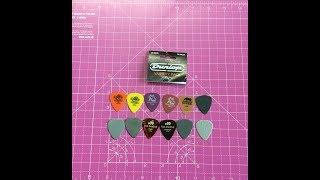 UNPACKING Jim Dunlop Guitar Pick Variety Pack light/ Medium