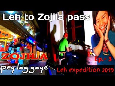 Stuck for whole night at zojila pass