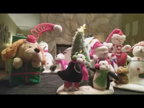My singing christmas  toys