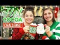 Guess the HOT CHOCOLATE Challenge!   Kamri and Piper