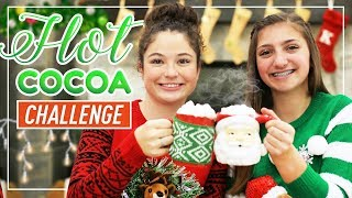 Guess the HOT CHOCOLATE Challenge! | Kamri and Piper