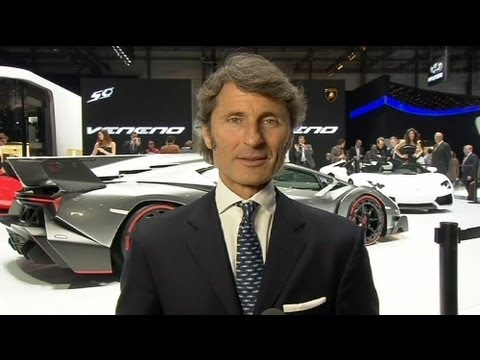euronews interview - Kult-Marke wird 50 - Interview mit Lamborghini-Chef Stephan Winkelmann