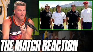 Pat McAfee's Thoughts On The Match 4 With Aaron Rodgers & Tom Brady