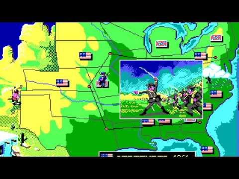 North & South (PC/DOS) 1990, Infogrames