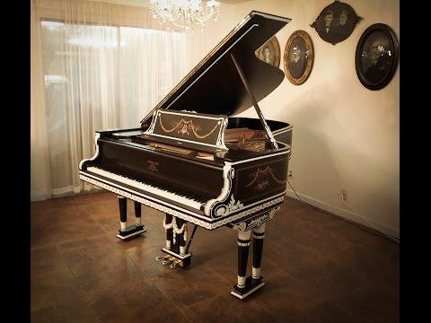 1905 Steinway Art Grand Piano featuring Glenn Brown's Ambassadors of Jazz