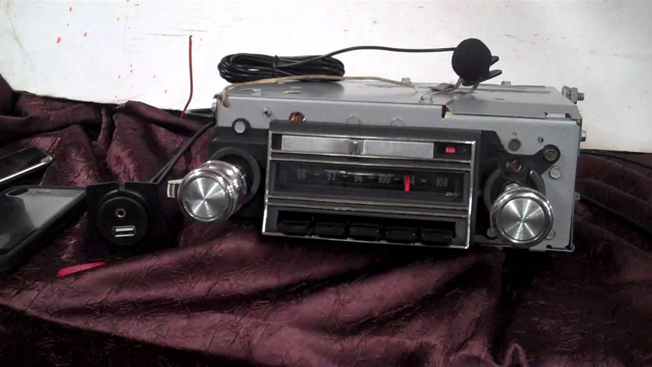 1965 Chevrolet Impala Ss Original Am Fm Radio Youtube Wiring Harness