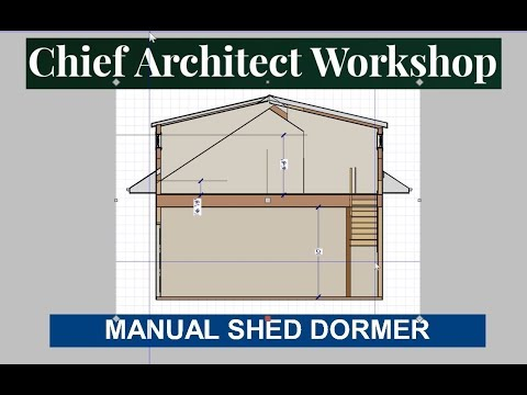 Manual Shed Dormer Roof Building